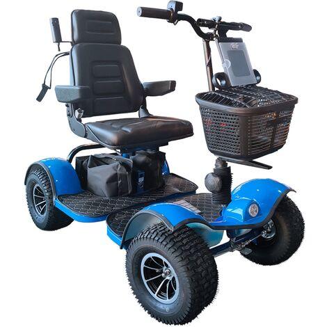 "main image of ""Hillman Warrior Blue Golf Buggy"""