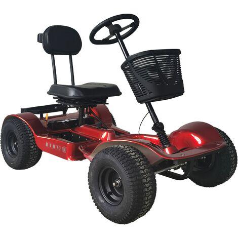 Hillman Hunter GT Sport Red Golf Buggy