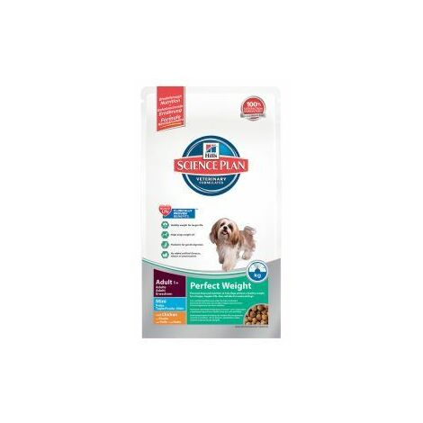 Hills Canine Adult Perfect Weight Mini Chicken 6kg x 1 (21960)