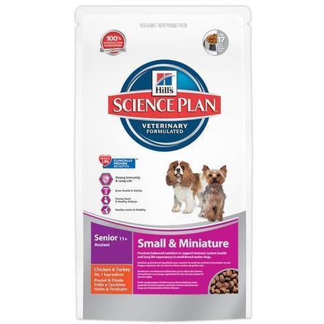 Hill'S chien senior 11+ small & miniatur