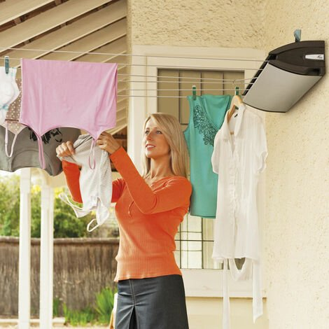 Hills Everyday 6 Retractable Clothes Washing Line