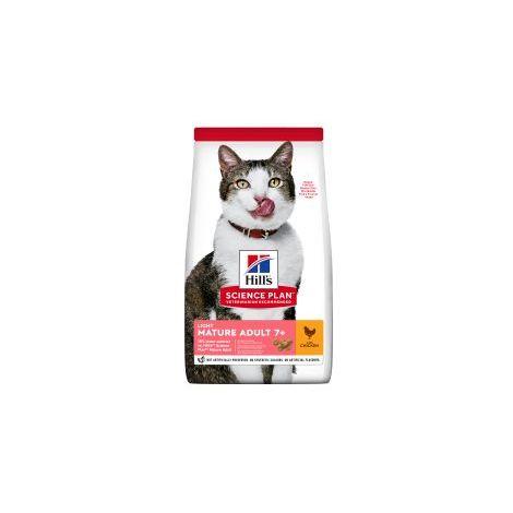 Hills - Hills Science Plan Feline Mature Adult 7+ Light with Chicken - 1.5kg