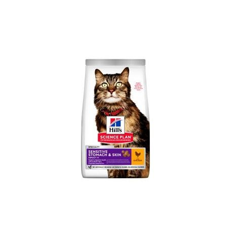 Hills - Hills Science PLan Feline Sensitive Stomach & Skin - 1.5kg
