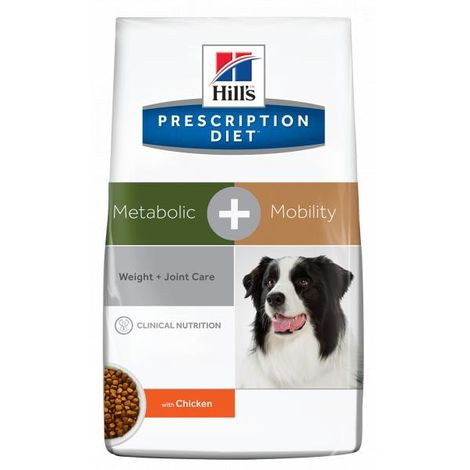 Hill's Prescription Diet Canine METABOLIC + MOBILITY 2 x 12 KG