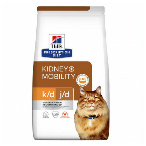 Hill's Prescription Diet Feline k/d + Mobility Saco de 2 Kg