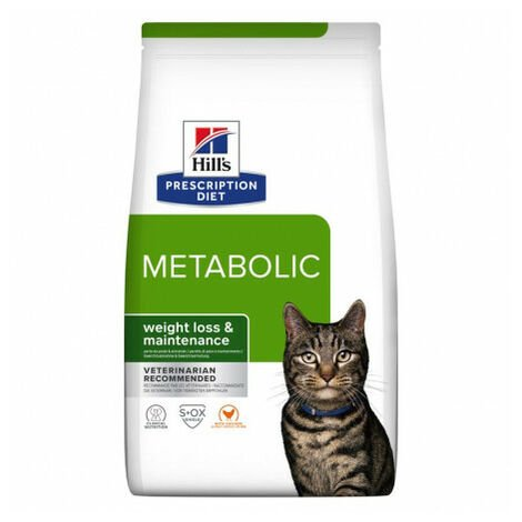 Hill's Prescription Diet Metabolic alimento para gatos con Pollo