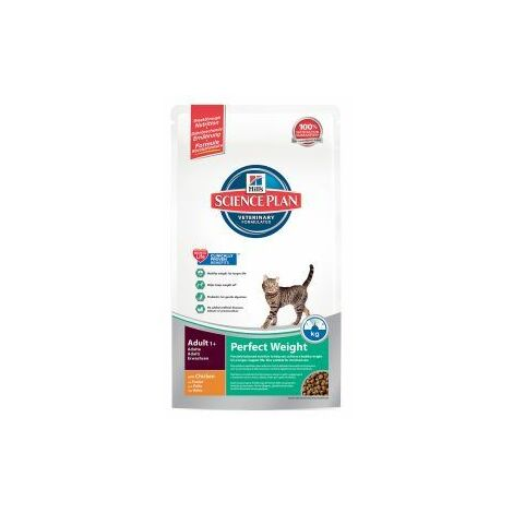 Hills Science Plan Cat Adult Dry Chicken Perfect Weight 1.5kg - 21969