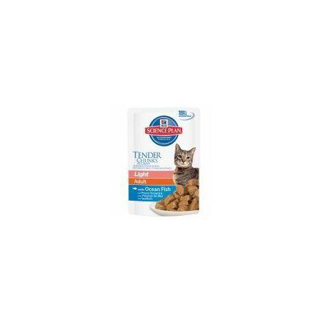 Hills Science Plan Feline Adult Light Tender Chunks in Gravy (996945)