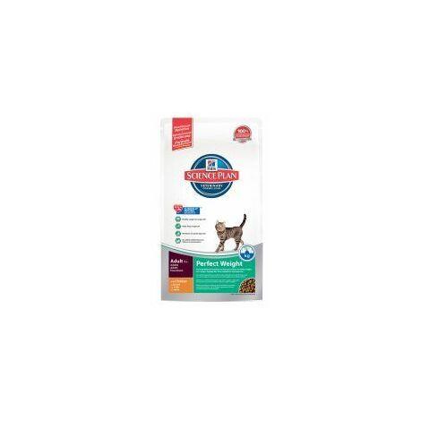 Hills Science Plan Feline Adult Perfect Weight Chicken (141846)