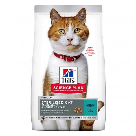 Hill's Science Plan Pienso Seco Feline Young Adult Sterilized Cat Atún