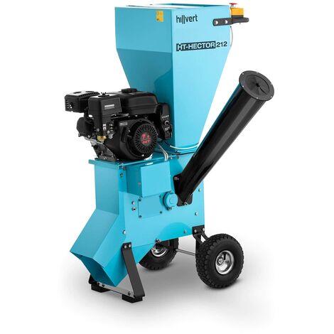 hillvert Triturador a Gasolina Biotriturador para Jardín 3.600 rpm Potencia: 7 PS