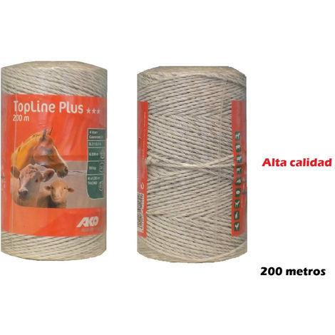 Hilo AKO TOP LINE PLUS 200m para pastor eléctrico de uso en cercas eléctricas