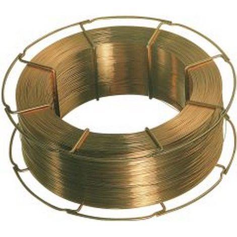 Hilo de aporte de gas de protección G3Si1 (SG 2), Ø de hilo : 1,0 mm, bobinado capa/capa
