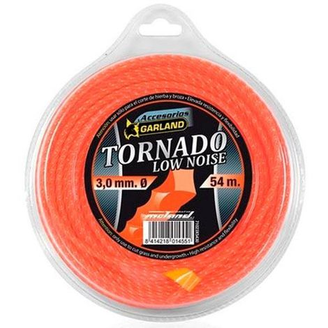 Hilo de nilón tornado en espiral Garland - varias tallas disponibles