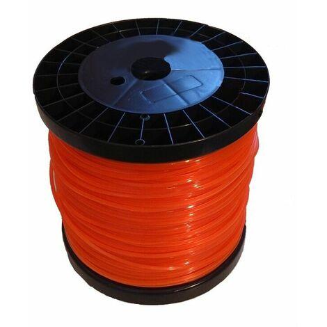 Hilo de nylon redondo bobina 2.4 x 240 M
