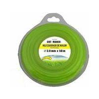 Hilo desbrozadora nylon cuadrado 2.4 mm
