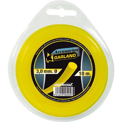 Hilo desbrozadora nylon redondo Garland R1030 3MM X 10MT