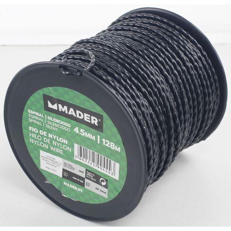 Hilo Nylon, Espiral, 4.5mm, 128m - MADER® | Garden Tools