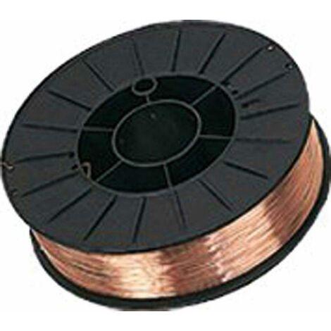Hilo Soldar macizo Er70S-6 (Bobina 5 Kg) Ø 0.8 mm