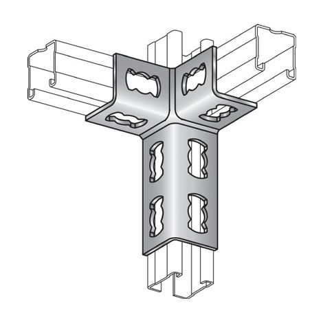 Hilti 368 641 elemento para el sistema ferroviario MQV-3 / 3D Conexi