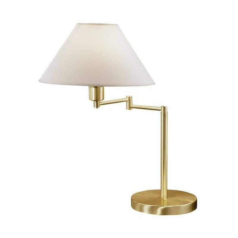 Image of 14-kolarz - HILTON brass table lamp 1 bulb Diameter 50 Cm