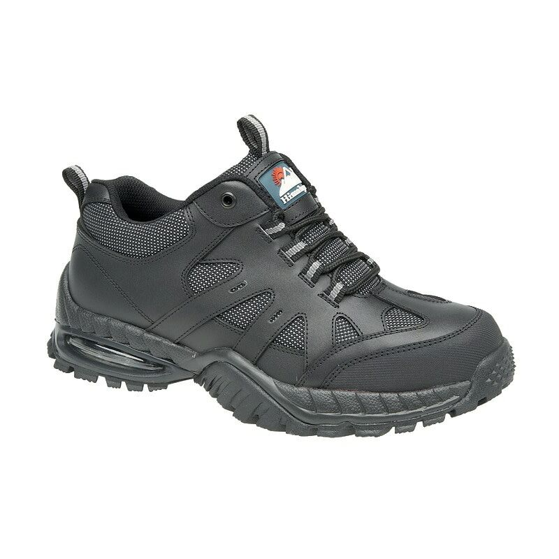 Image of Himalayan 4041 Air Bubble Black Safety Trainers - Size 4