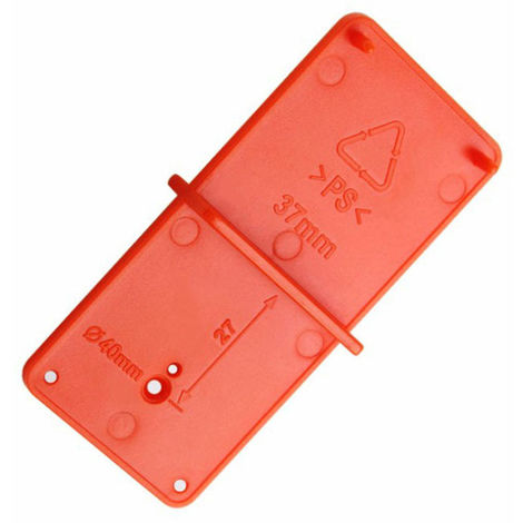 Hinge Hole Guide Locator Hole Opening Template 35Mm 40Mm