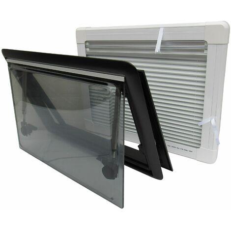 """main image of """"Hinged Window Kit For Caravan & Motorhome 50CM X 139CM (Cassette Blind & Fly Net)"""""""
