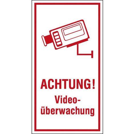 "Hinweisschild 300 x 200 mm, ""Videoüberwachung"""