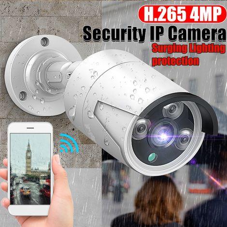 Hiseeu Impermeable 1080P Full HD 1080P POE Cámara IP inalámbrica CCTV WIFI CMOS Cámara inteligente Detección de movimiento Protección de iluminación Protección de cirugía Sasicare