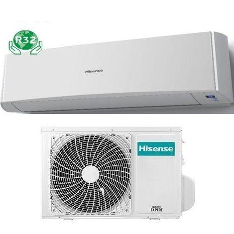 HISENSE climatiques onduleur mono R32 12000 climatiseur btu ECO FACILE A / A de la pompe à chaleur.