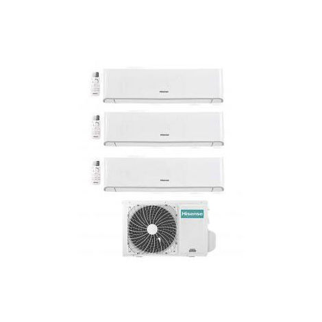 HISENSE climatiques WiFi R410 climatiseur LED onduleur TRIAL 9000 9000 9000 btu ENERGIE A / A pompe à chaleur.