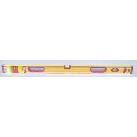 """main image of """"Hit livella in alluminio a 3 bolle 100 cm professionale livello 1 metro mt m"""""""