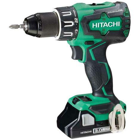 Hitachi DV18DBFL2/JM 18v Brushless Combi Drill 2x 3ah Batteries