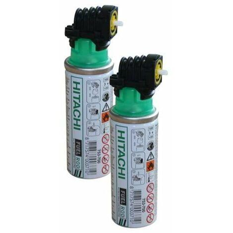Hitachi - Hikoki- box 2 cartouches gaz 30ml NT 65GB / GS - 753702 - TNT
