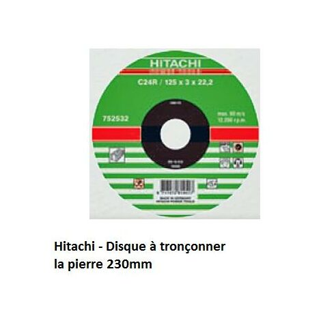 "main image of ""Hitachi - Hikoki - Disco para cortar piedra 230mm - 752535"""