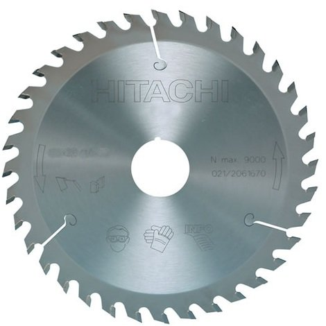 Hitachi - Hikoki- Lame carbure 190mm 18 dents - 752436
