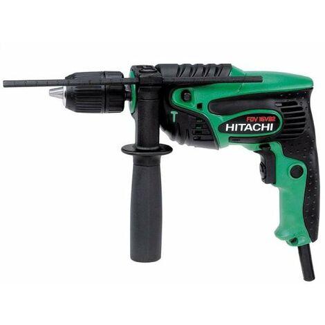 Hitachi - Hikoki- Perceuse à percussion 13mm 550W 10 Nm- acier béton bois 13/16/25mm - FDV 16VB2