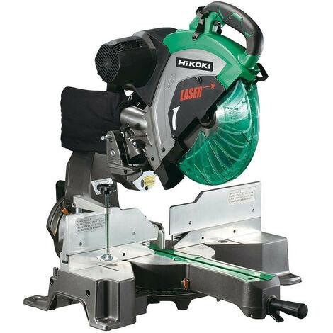 Hitachi - Hikoki- Scie radiale à coupe d'onglet 1520W 305mm - C12RSH2
