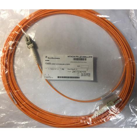 Hitachi JZ-050LL010 - 10 meters Cable Optical Fiber FOMM50 Lead 3.0 LC/DPX Duplex