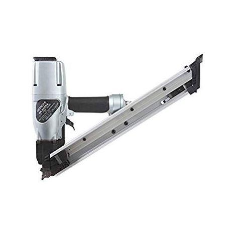 HITACHI NR65AK CLOUEUR D'ANCRAGE PNEUMATIQUE 38-64MM + 1800 CLOUS 4 X 50 mm pour connecteurs métalliques