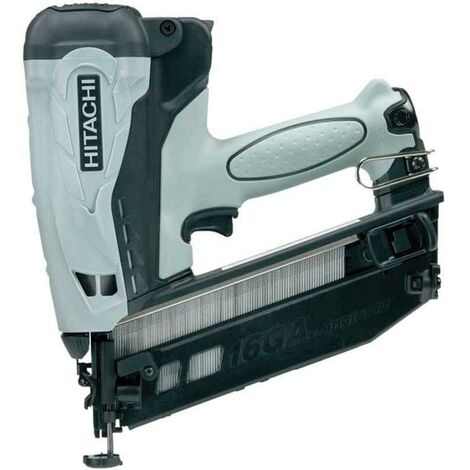 Hitachi NT65GB Cordless Gas Finish Nailer (Angled)