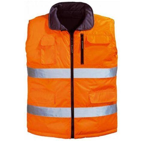 HIWAI gilet haute visibilité réversible avec poches Coverguard
