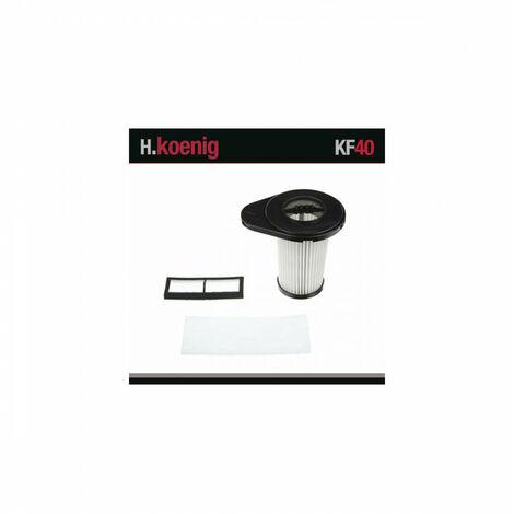 H.KOENIG KF40 Filtres Hépa Pour Aspirateur TC40