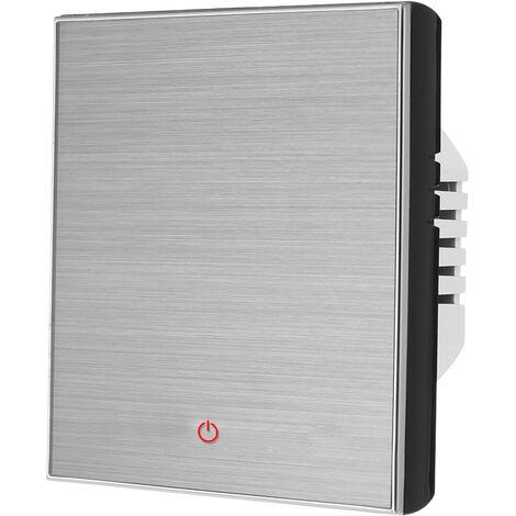 HL-3000L-GALW WiFi termostato inteligente para calentar el agua del regulador de temperatura digital, compatible con Amazon Eco / Google Inicio / Tmall Genie / IFTTT 5A AC 95-240V, Negro