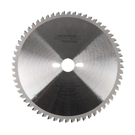 HM Kreissägeblatt - Ø 254 mm x 2,8 mm x 30 mm   WZ negativ (48 Zähne)