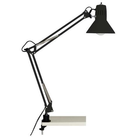 HOBBY Lampe de bureau articulable avec interrupteur et fixation serre-joint