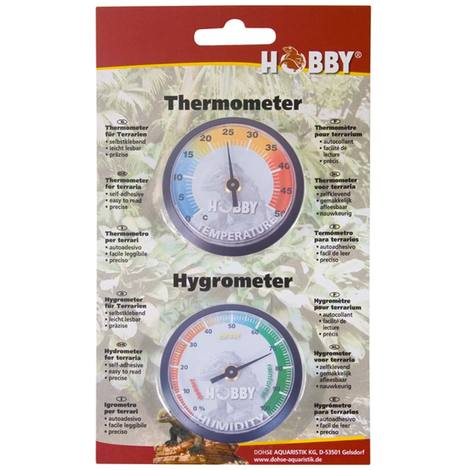 Hobby Thermometer/Hygrometer, (AHT1)