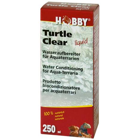 Hobby Turtle Clear liquid, 250 ml für 200 l