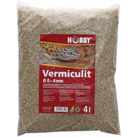 Hobby Vermiculit, Ø 0-4 mm, 4 Liter
